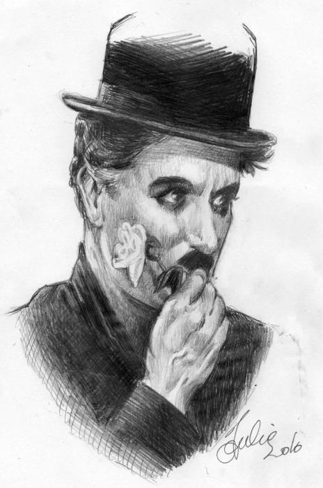 Charlie Chaplin by sanaelle